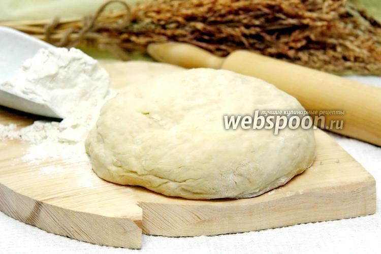 Фото Тесто «как пух» на кефире для пирожков