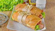 Фото рецепта Французский хот-дог