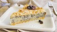 Фото рецепта Пирог с творогом без яиц