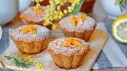Фото рецепта Маффины с мандаринами
