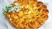 Фото рецепта Пирог Хризантема
