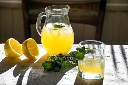 Коктейль «Мята-лимон»