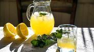 Фото рецепта Коктейль «Мята-лимон»
