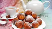 Фото рецепта Пончики из творога