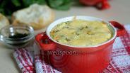 Фото рецепта Запеканка с морепродуктами