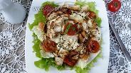 Фото рецепта Салат Цезарь с пекинской капустой