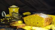 Фото рецепта Кукурузный кекс с пармезаном
