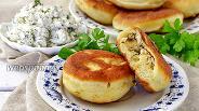 Фото рецепта Пирожки жареные с творогом