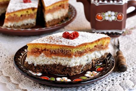 Трёхслойный пирог