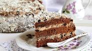 Фото рецепта Шоколадный торт с черносливом