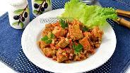 Фото рецепта Перловая каша с мясом