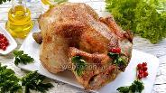 Фото рецепта Целая курица в мультиварке