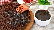 Фото рецепта Шоколадная пропитка