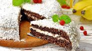 Фото рецепта Шоколадный торт с бананами