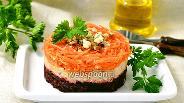 Фото рецепта Салат из свёклы, моркови и сельдерея