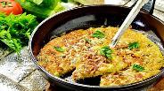 Фото рецепта Картофельный пирог на сковороде