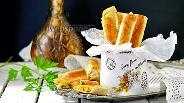 Фото рецепта Сырные палочки из лаваша