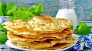Фото рецепта Лепёшки на сметане на сковороде
