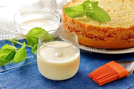 Пропитка из сгущёнки для бисквитных коржей