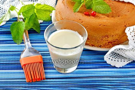 Пропитка с молоком для бисквита