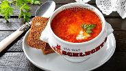 Фото рецепта Томатный суп с рисом