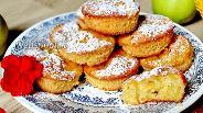 Фото рецепта Маффины с яблоками