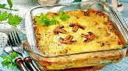 Фото рецепта Жульен с грибами и картошкой