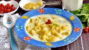 Фото рецепта Молочный суп с клёцками
