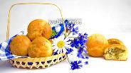 Фото рецепта Булочки с капустой