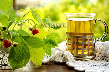 Чай из листьев смородины и малины