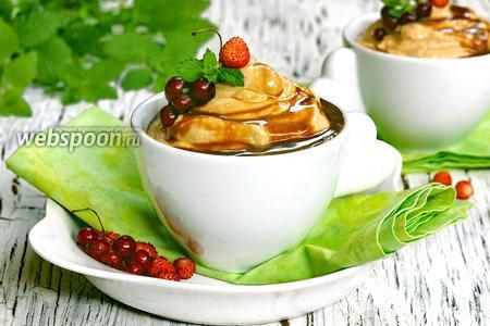 Десерт «Творожное крем-брюле»