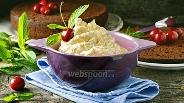 Фото рецепта Крем из кефира
