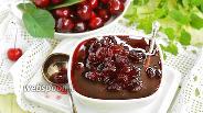 Фото рецепта Варенье из черешни «Пятиминутка»