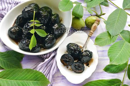 Варенье из зелёных грецких орехов