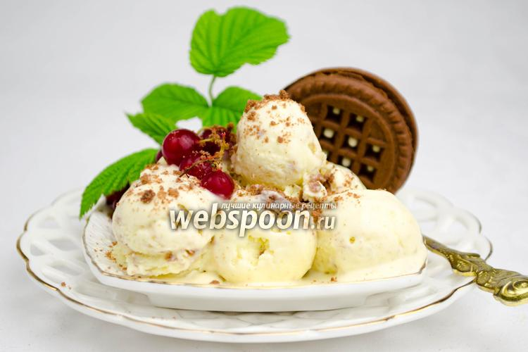Фото Творожное мороженое