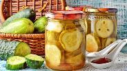 Фото рецепта Огурцы с кетчупом чили без стерилизации