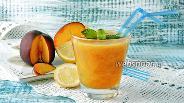 Фото рецепта Персиковый лимонад