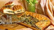 Фото рецепта Пирог с мангольдом