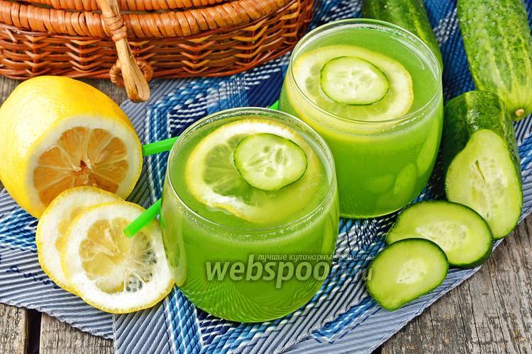 Фото Огуречный лимонад