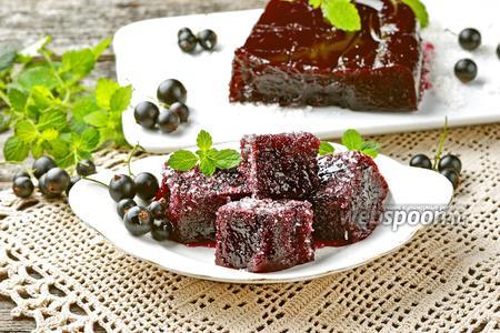 Мармелад из чёрной смородины