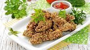 Фото рецепта Куриные наггетсы в духовке