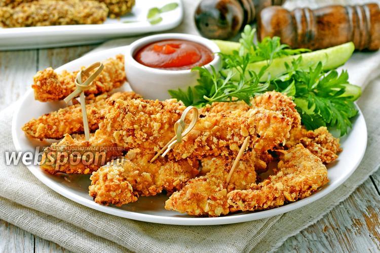 Фото Куриные наггетсы с сыром