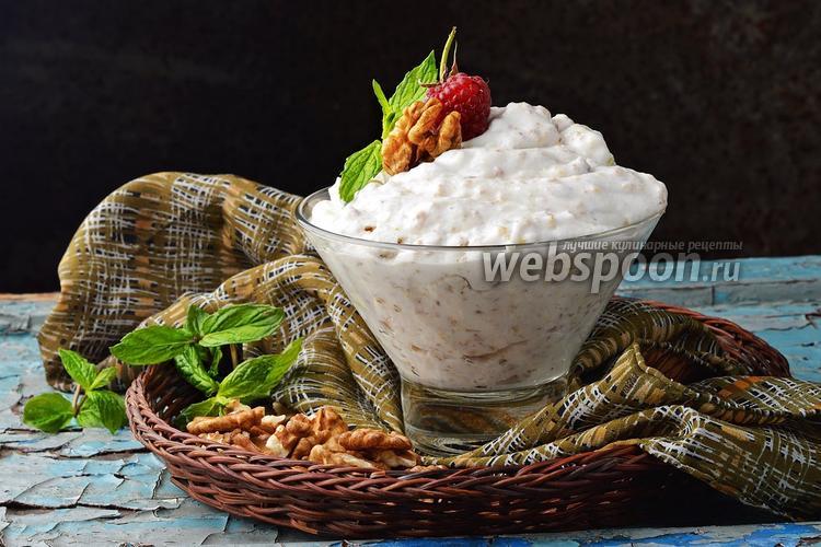 Фото Сметанный крем с орехами