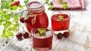 Фото рецепта Морс вишневый