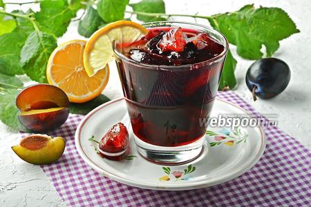 Фото рецепта Варенье из слив с лимоном