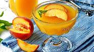 Фото рецепта Желе из персиков