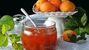 Фото рецепта Варенье из абрикосов пятиминутка