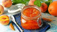 Фото рецепта Варенье из персиков с апельсинами