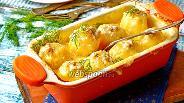Фото рецепта Фаршированная картошка