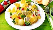 Фото рецепта Салат с дыней и курицей